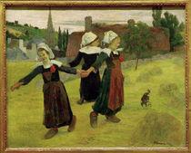 P.Gauguin, Tanzende breton. Maedchen by AKG  Images