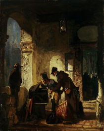 Spitzweg/Zollrevision(Paepstl.Zollw.)1880 by AKG  Images