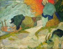 P.Gauguin,Waescherinnen am Roubine du Roi von AKG  Images