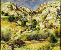 A.Renoir, Berge am Estaque by AKG  Images