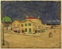 V.van Gogh, Das gelbe Haus (Aquarell) by AKG  Images