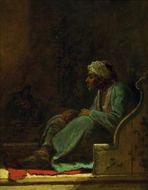 C.Spitzweg, Sitzender Tuerke von AKG  Images