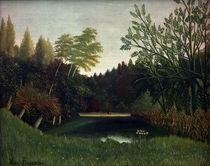 H.Rousseau, Ansicht im Bois de Boulogne von AKG  Images