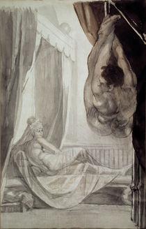 Fuessli/Brunhilde betrachtet Gunther/lav. von AKG  Images