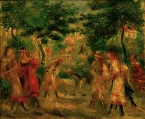 A.Renoir, Kinder im Garten v.Montmartre von AKG  Images