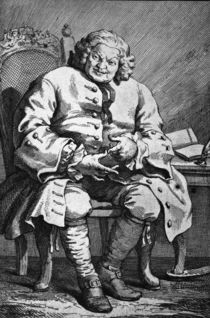 Simon Lord Lovat / Rad.v.Hogarth von AKG  Images