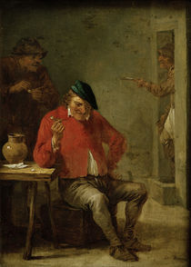 David Teniers d.J., Tabagie mit ... by AKG  Images