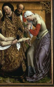 Rogier v.d.Weyden, Kreuzabnahme, Aussch. von AKG  Images
