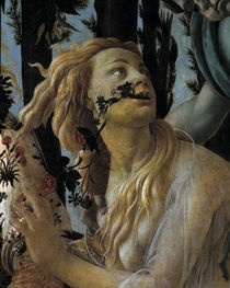Botticelli, Primavera, Chloris by AKG  Images