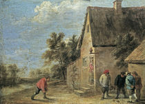 David Teniers d.J., Kugelspieler by AKG  Images