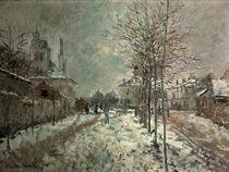 C.Monet, Boulevard Pontoise Argenteuil by AKG  Images