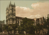 London, Westminster Abbey / Photochrom von AKG  Images