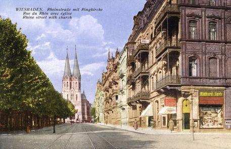 Parkhäuser In Wiesbaden Innenstadt