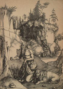 Duerer, Hl.Hieronymus in der Wueste by AKG  Images