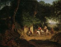 L.Richter, Waldbrunnen bei Ariccia von AKG  Images