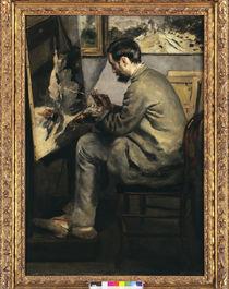 Frederic Bazille malt... / Gem.v.Renoir von AKG  Images