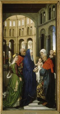 R.van der Weyden, Dreikoenigsaltar, recht by AKG  Images