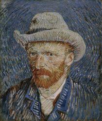 van Gogh, Selbstbildnis mit Filzhut von AKG  Images