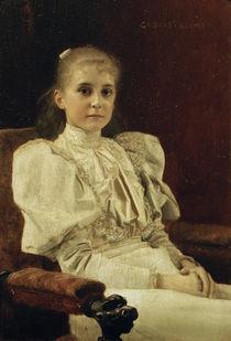 Gustav Klimt, Sitzendes junges Maedchen by AKG  Images