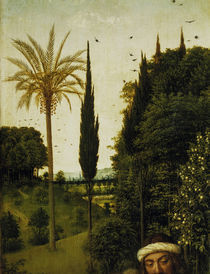 van Eyck,Genter Altar (Det.),Palme /1432 von AKG  Images