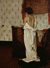 F.Vallotton, Beim Ankleiden von AKG  Images