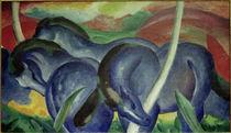 Franz Marc, Die grossen blauen Pferde von AKG  Images