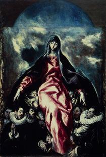 El Greco, Schutzmantelmadonna von AKG  Images