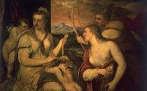 Tizian, Erziehung des Amor by AKG  Images