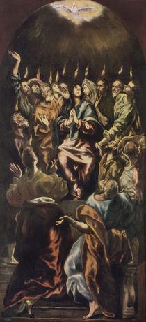 El Greco, Ausgiessung des Hl.Geistes von AKG  Images