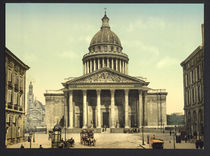 Paris, Pantheon / Photochrom von AKG  Images