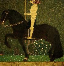 G.Klimt, Das Leben ein Kampf (Ritter) by AKG  Images