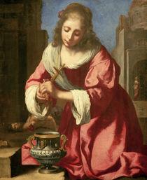 Vermeer, Hl.Praxedis by AKG  Images