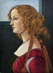 Profilbildnis einer jungen Frau/Bottic. by AKG  Images