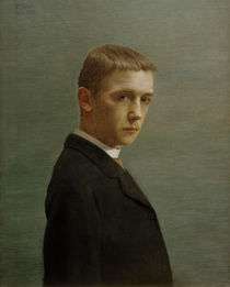 Felix Vallotton, Selbstbildnis 1885 by AKG  Images