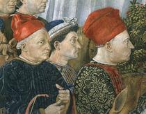 B.Gozzoli, Zug d.Koenige, Medici Bildn. by AKG  Images