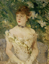 B.Morisot, Junge Frau im Ballkleid by AKG  Images