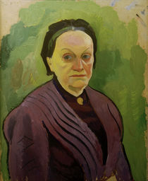 A.Macke, Portraetstudie Katharina Koehler by AKG  Images