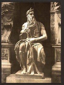 Michelangelo, Moses by AKG  Images
