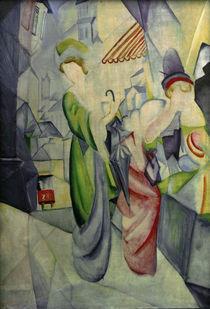 A.Macke, Helle Frauen vor dem Hutladen von AKG  Images
