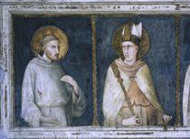 Simone Martini, Hl.Franziskus & Ludwig by AKG  Images