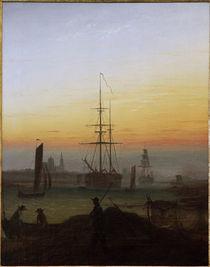 C.D.Friedrich, Greifswalder Hafen von AKG  Images