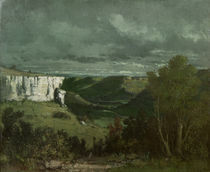 G.Courbet, Das Tal der Loue by AKG  Images