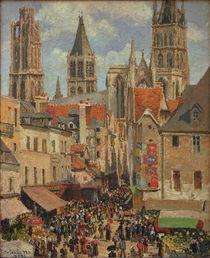 C.Pissarro, Rue de l'Epicerie in Rouen by AKG  Images