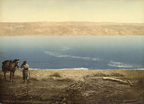 Totes Meer, Landschaftsbild / Photochrom by AKG  Images