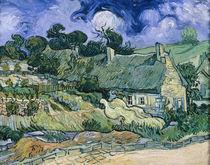 V.van Gogh, Strohgedeckte Haeuser von AKG  Images