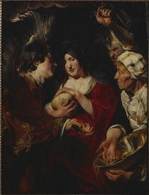 J.Jordaens, Versuchung Maria Magdalena by AKG  Images