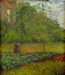 C.Pissarro, Gemuesegarten mit Baeuerin... by AKG  Images