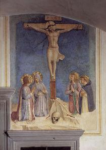 B.Gozzoli, Kreuzigung mit Heiligen by AKG  Images