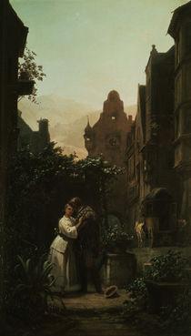Carl Spitzweg, Der Abschied/ um 1855 by AKG  Images