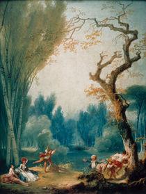 J.H.Fragonard, Spiel mit Pferd u.Reiter by AKG  Images